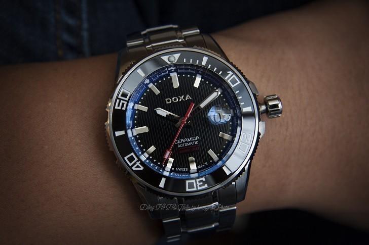 Đồng hồ Doxa D127SBUW - Siêu phẩm đồng hồ lặn 300 mét - Ảnh: 3