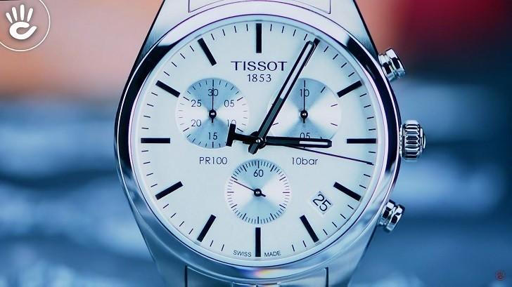 Đồng hồ Tissot T101.417.11.031.00 thể thao, dây đeo kim loại - Ảnh: 1