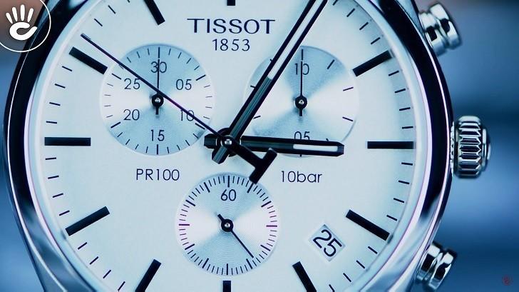 Đồng hồ Tissot T101.417.11.031.00 thể thao, dây đeo kim loại - Ảnh: 2