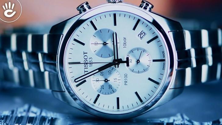Đồng hồ Tissot T101.417.11.031.00 thể thao, dây đeo kim loại - Ảnh: 4