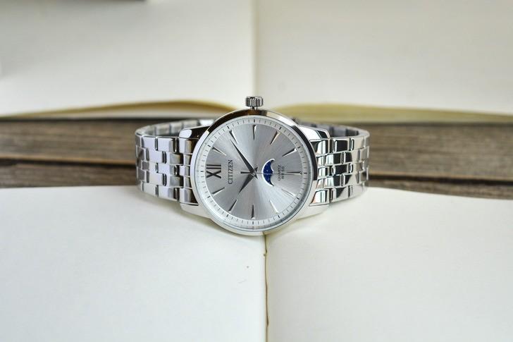 Đồng hồ Citizen AK5000-54A Moonphase, miễn phí thay pin - Ảnh 1
