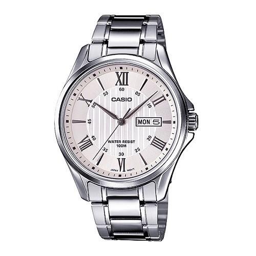 10 mẫu đồng hồ nam Cần Thơ bán chạy nhất hiện nay - Ảnh: Casio MTP-1384D-7AVDF