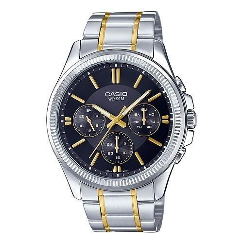 10 mẫu đồng hồ nam Cần Thơ bán chạy nhất hiện nay - Ảnh: Casio MTP-1375SG-1AVDF