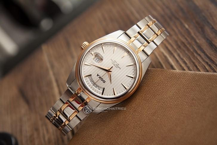 Đồng hồ Doxa D122RSV với thiết kế sang trọng, đẳng cấp - Ảnh: 6