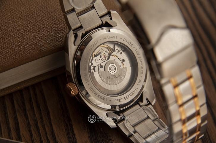 Đồng hồ Doxa D122RSV với thiết kế sang trọng, đẳng cấp - Ảnh: 5