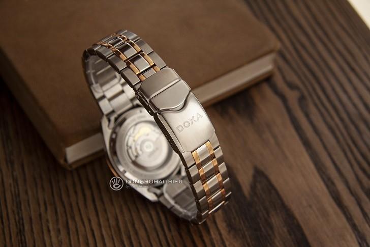 Đồng hồ Doxa D122RSV với thiết kế sang trọng, đẳng cấp - Ảnh: 4