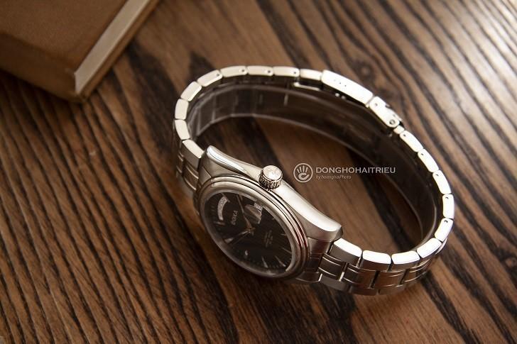 Đồng hồ Doxa D122SBK mạnh mẽ, vận hành bởi máy cơ Thụy Sỹ - Ảnh: 4