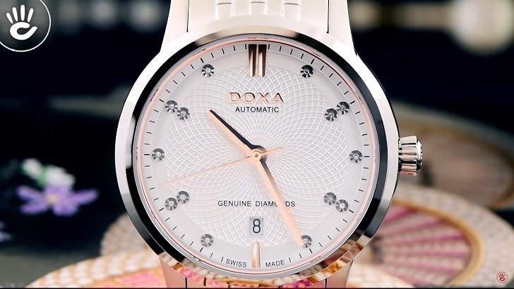 Thông tin chi tiết về chiếc đồng hồ nam Doxa D220SSV - Ảnh: 1
