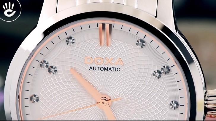 Thông tin chi tiết về chiếc đồng hồ nam Doxa D220SSV - Ảnh: 2