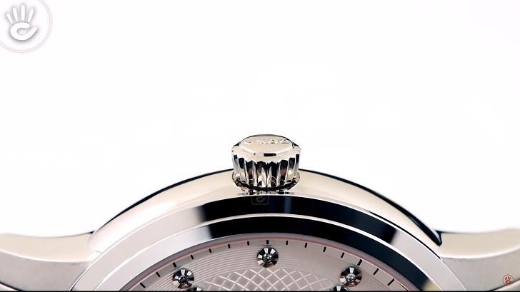 Thông tin chi tiết về chiếc đồng hồ nam Doxa D220SSV - Ảnh: 5