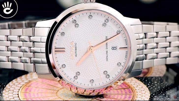 Thông tin chi tiết về chiếc đồng hồ nam Doxa D220SSV - Ảnh: 6