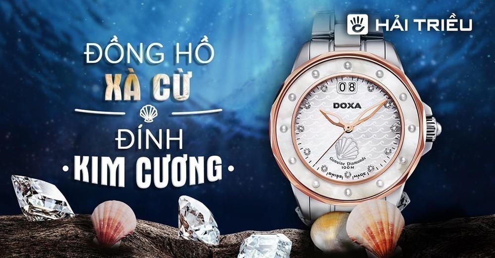 Doxa - Đồng hồ kim cương Thụy Sỹ