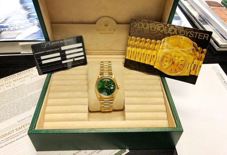 Đồng hồ vàng 18K nguyên khối có làm bằng vàng thật không? - Ảnh: 5