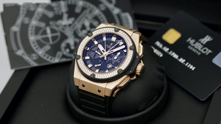 Đồng hồ vàng 18K nguyên khối có làm bằng vàng thật không? - Ảnh: 6