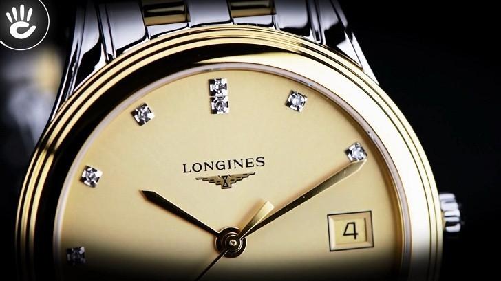 Đồng hồ Longines L4.774.3.37.7 12 viên kim cương -12 cọc số - Ảnh 3