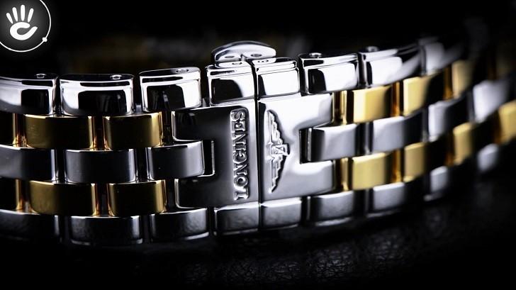 Đồng hồ Longines L4.774.3.37.7 12 viên kim cương -12 cọc số - Ảnh 4