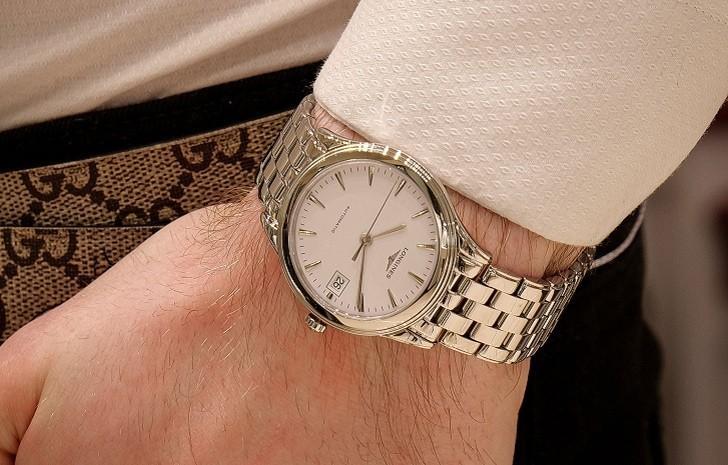 Đồng hồ Longines L4.774.4.12.6 kính sapphire chống trầy - Ảnh 1
