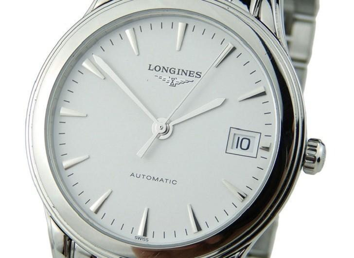 Đồng hồ Longines L4.774.4.12.6 kính sapphire chống trầy - Ảnh 2
