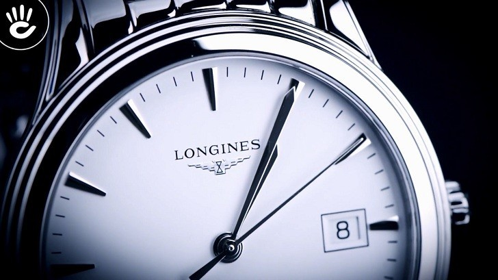 Đồng hồ Longines L4.774.4.12.6 kính sapphire chống trầy - Ảnh 3