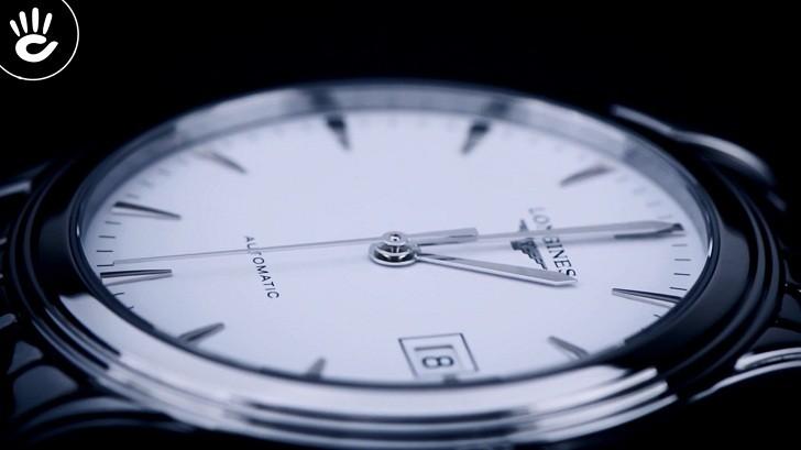 Đồng hồ Longines L4.774.4.12.6 kính sapphire chống trầy - Ảnh 5