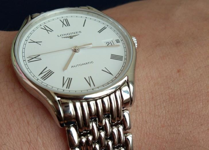 Đồng hồ Longines L4.860.4.11.6 bộ máy trữ cót đến 64 giờ - Ảnh 2
