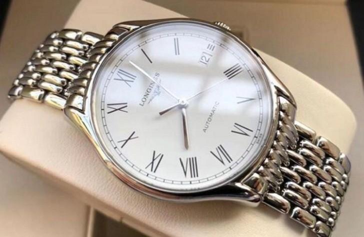 Đồng hồ Longines L4.860.4.11.6 bộ máy trữ cót đến 64 giờ - Ảnh 3