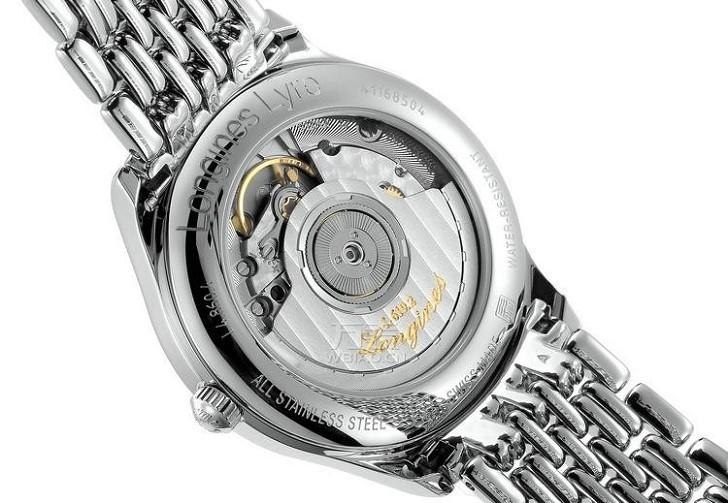 Đồng hồ Longines L4.860.4.11.6 bộ máy trữ cót đến 64 giờ - Ảnh 5