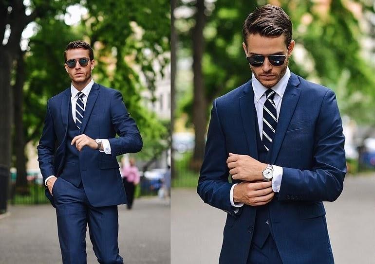 Phụ kiện thời trang dành cho nam trên 35 sẽ là Cavat sẫm màu