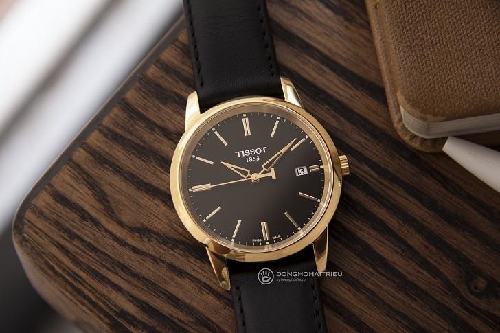 Đồng hồ Tissot T033.410.36.051.01 dây da chính hãng bền bỉ - Ảnh 1