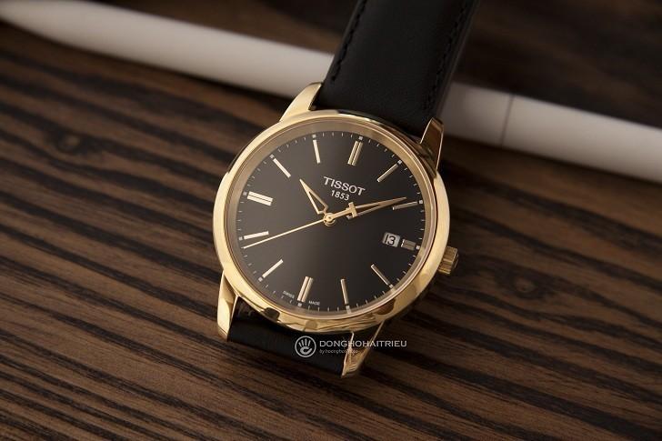 Đồng hồ Tissot T033.410.36.051.01 dây da chính hãng bền bỉ - Ảnh 2