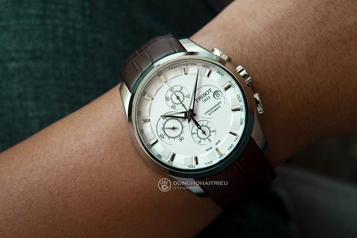 Đồng hồ Tissot T035.627.16.031.00 kính sapphire chống trầy - Ảnh 1