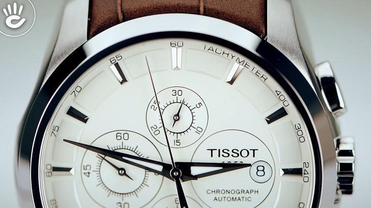 Đồng hồ Tissot T035.627.16.031.00 kính sapphire chống trầy - Ảnh 2