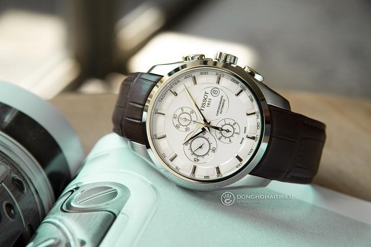 Đồng hồ Tissot T035.627.16.031.00 kính sapphire chống trầy - Ảnh 4