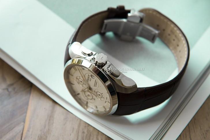 Đồng hồ Tissot T035.627.16.031.00 kính sapphire chống trầy - Ảnh 5