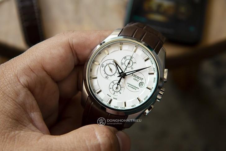 Đồng hồ Tissot T035.627.16.031.00 kính sapphire chống trầy - Ảnh 6