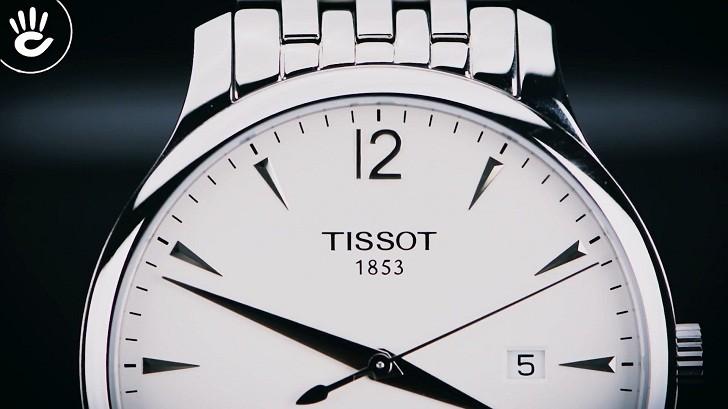 Đồng hồ Tissot T063.610.11.037.00 kính sapphire chống trầy - Ảnh 2