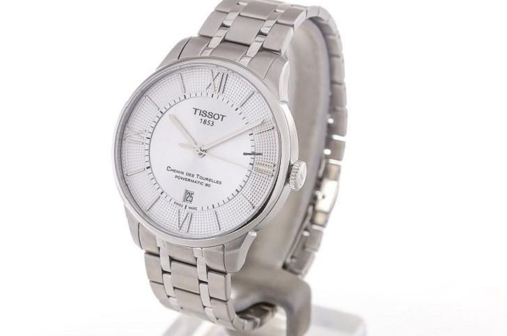 Đồng hồ Tissot T099.407.11.038.00 máy cơ đạt 80 giờ trữ cót - Ảnh 1