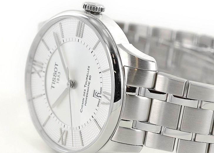 Đồng hồ Tissot T099.407.11.038.00 máy cơ đạt 80 giờ trữ cót - Ảnh 5