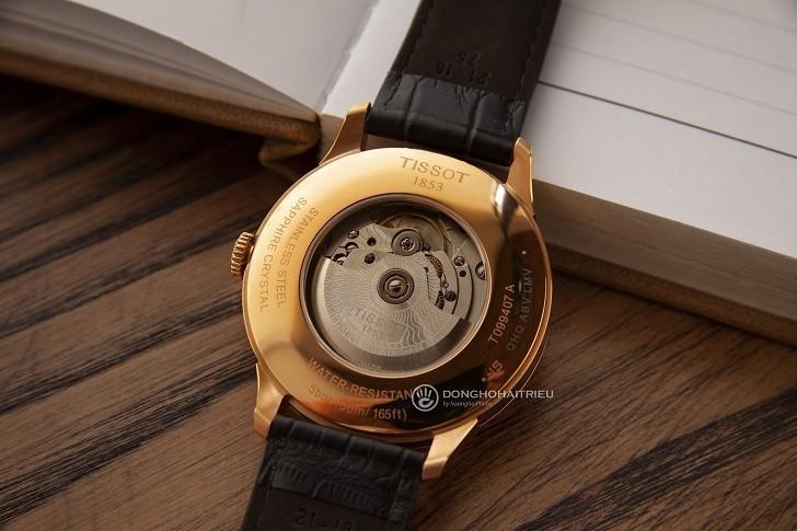 Đồng hồ Tissot T099.407.36.037.00 dây da dập vân cao cấp - Ảnh 5