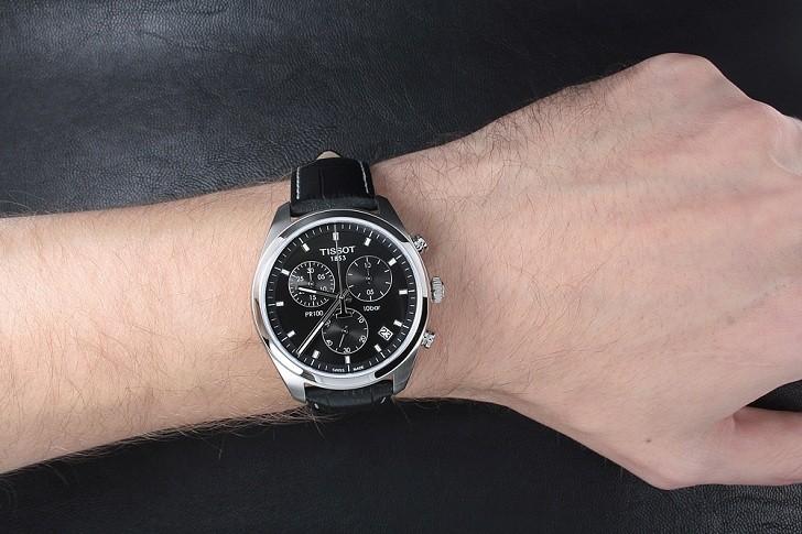 Đồng hồ Tissot T101.417.16.051.00 bộ máy quartz chính xác - Ảnh 1