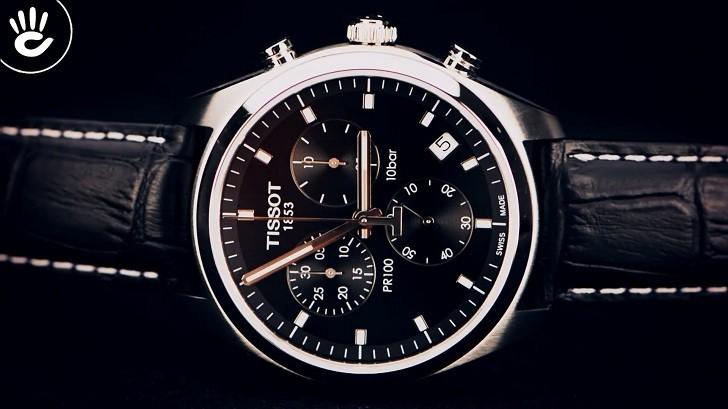 Đồng hồ Tissot T101.417.16.051.00 bộ máy quartz chính xác - Ảnh 5