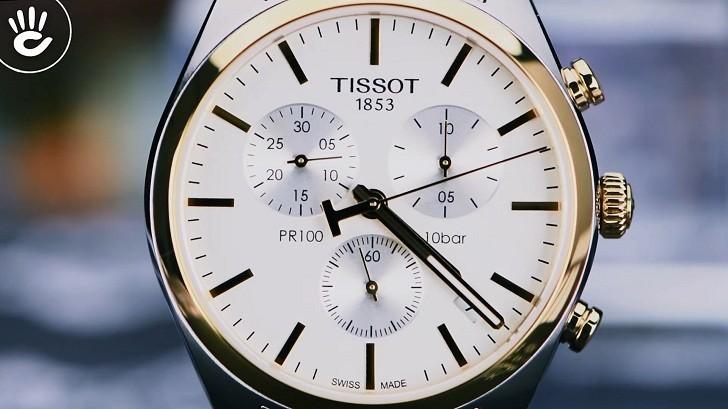 Đồng hồ Tissot T101.417.22.031.00 3 ô chức năng tiện dụng - Ảnh 2