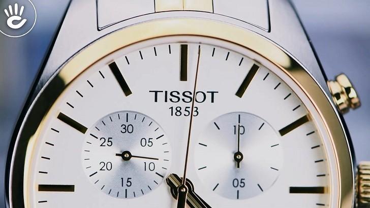 Đồng hồ Tissot T101.417.22.031.00 3 ô chức năng tiện dụng - Ảnh 3