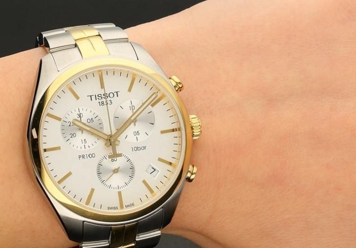 Đồng hồ Tissot T101.417.22.031.00 3 ô chức năng tiện dụng - Ảnh 6