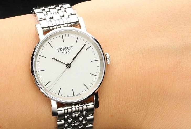 Đồng hồ Tissot T109.210.11.031.00 kính sapphire chống trầy - Ảnh 1