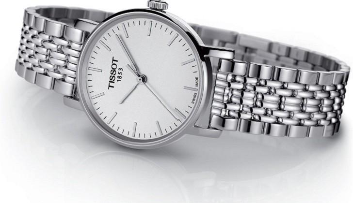 Đồng hồ Tissot T109.210.11.031.00 kính sapphire chống trầy - Ảnh 2