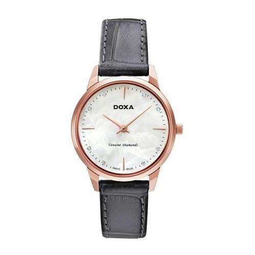 TOP mẫu đồng hồ Thụy Sỹ nữ cao cấp theo phong cách tối giản - Mẫu: Doxa D158RWH