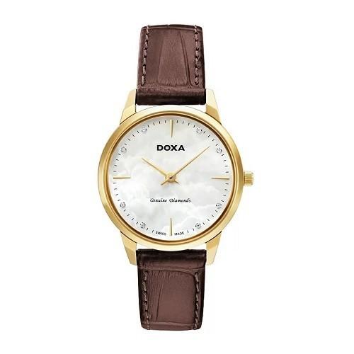 TOP mẫu đồng hồ Thụy Sỹ nữ cao cấp theo phong cách tối giản - Mẫu: Doxa D158KWH