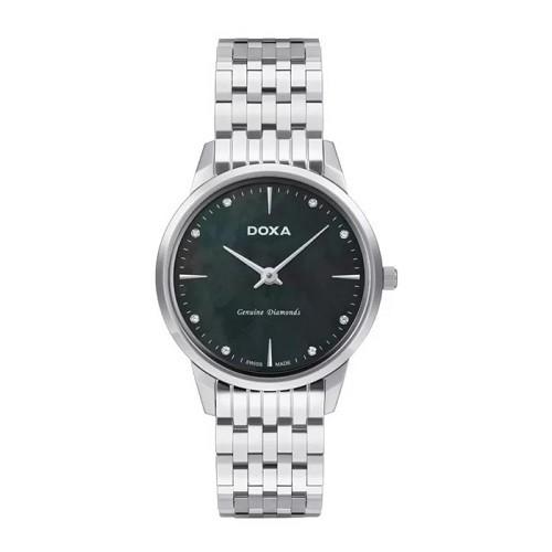 TOP mẫu đồng hồ Thụy Sỹ nữ cao cấp theo phong cách tối giản - Mẫu: Doxa D158SBK
