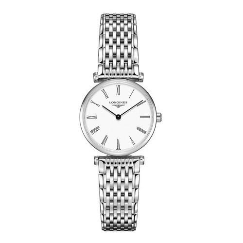 TOP mẫu đồng hồ Thụy Sỹ nữ cao cấp theo phong cách tối giản - Mẫu: Longines L4.209.4.11.6